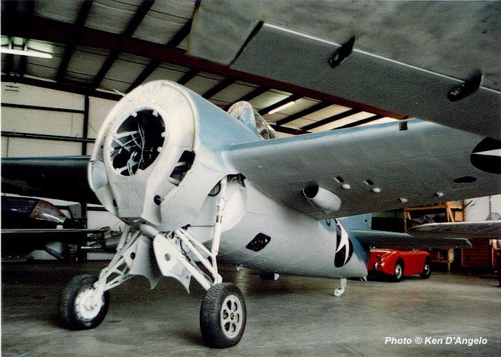 Wildcat forward fuselage details